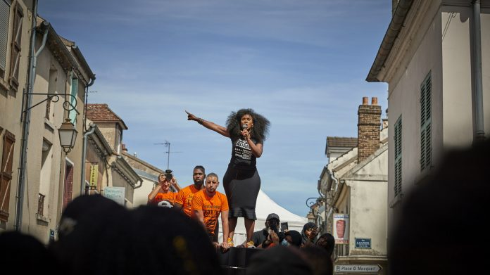 In France, A Sister's Fight For Justice And Black Lives Gains Momentum : NPR