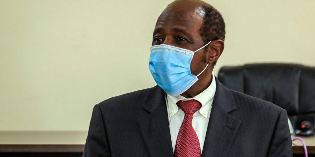 "Paul Rusesabagina, who was portrayed in the film ""Hotel Rwanda"" as a hero who saved the lives of more than 1,200 people from the country's 1994 genocide, and is a well-known critic of President Paul Kagame, has been arrested by the Rwandan government on terror charges, police announced on Monday, Aug. 31, 2020. (AP Photo)"