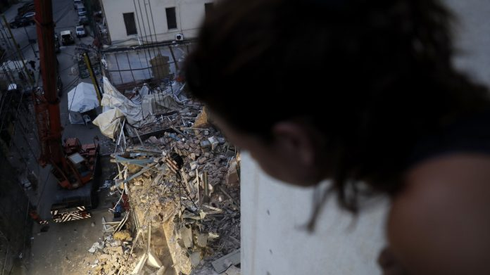 'There's No Sign Of Life.' Rescue Team In Beirut Ends Search For Possible Survivor : NPR